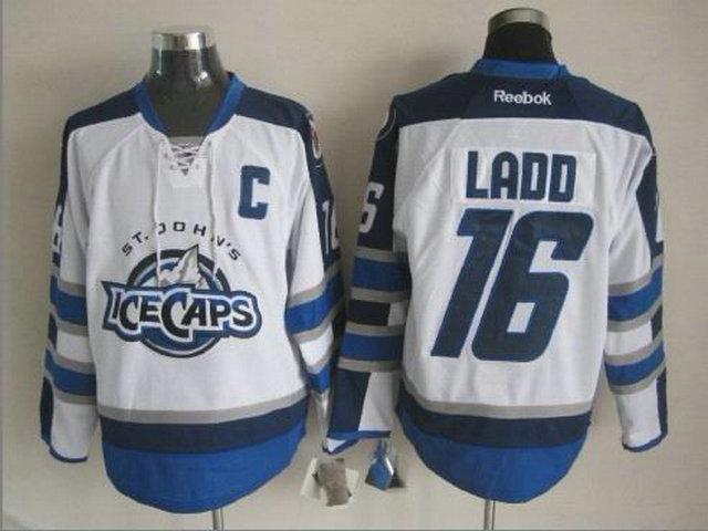 NHL Winnipeg Jets 16 Andrew Ladd White St. John's IceCaps