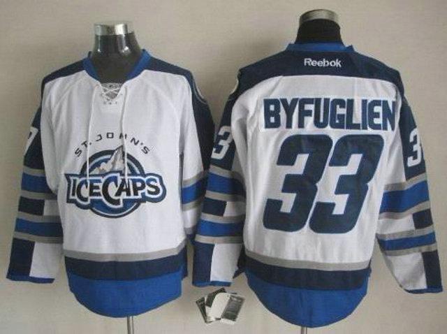 NHL Winnipeg Jets 33 Dustin Byfuglien White St. John's IceCaps
