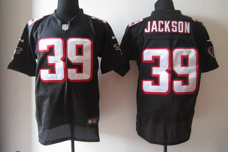 Atlanta Falcons 39 Jackson Black Nike Elite Jerseys