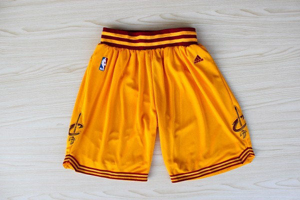 NBA Cleveland Cavaliers Shorts Orange