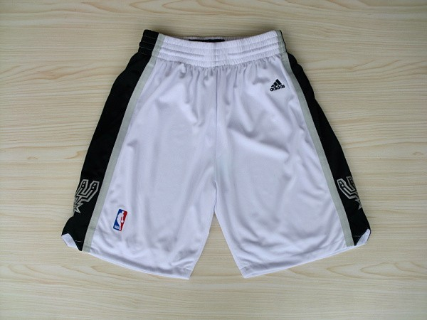 NBA San Antonio Spurs Shorts white