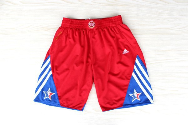 NBA Shorts 2013 WEST All-Star Red