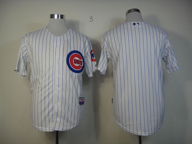 MLB Chicago Cubs Blank White Jersey