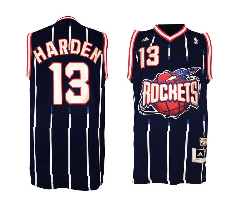 NBA Houston Rockets 13 James Harden Hardwood Classic Fashion Swingman Jersey