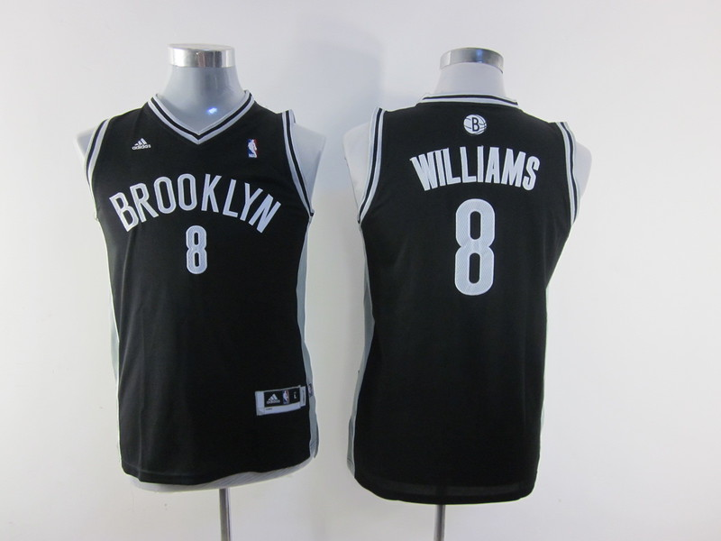 NBA Youth Brooklyn Nets 8 Deron Williams Black