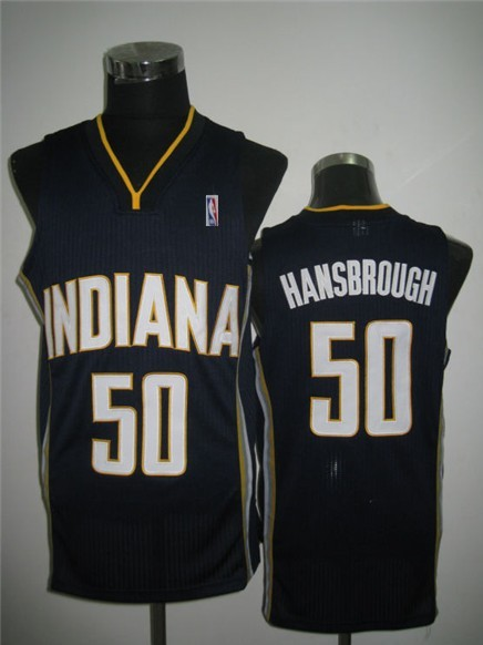 NBA Indlana Pacers 50 Tyler Hansbrough Blue