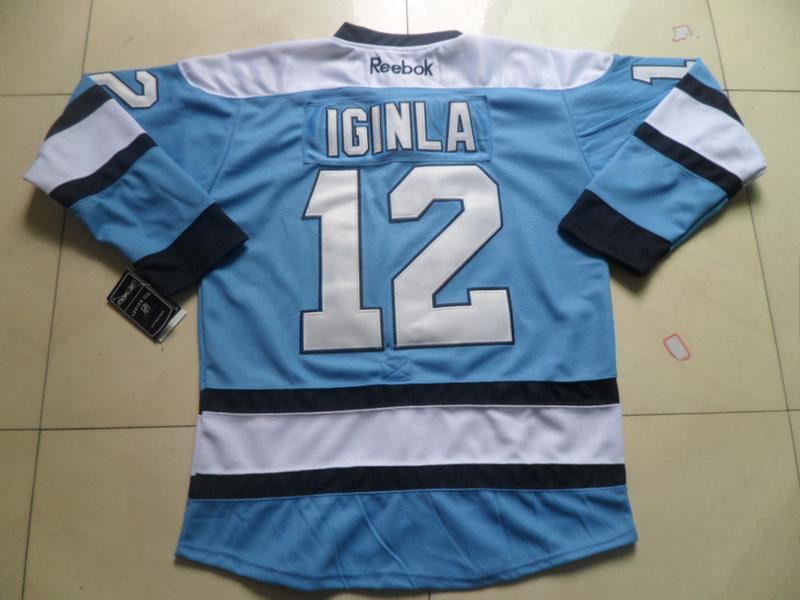 NHL Pittsburgh Penguins 12 Jarome Iginla Blue