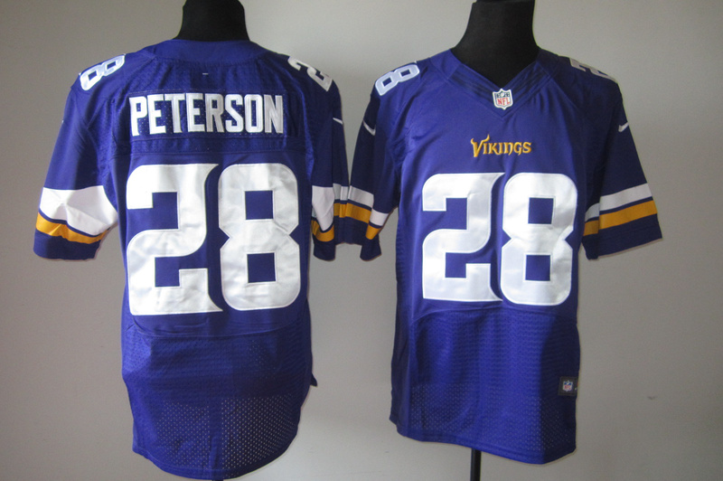 Minnesota Vikings 28 Adrian Peterson Purple1 Nike Elite Jerseys