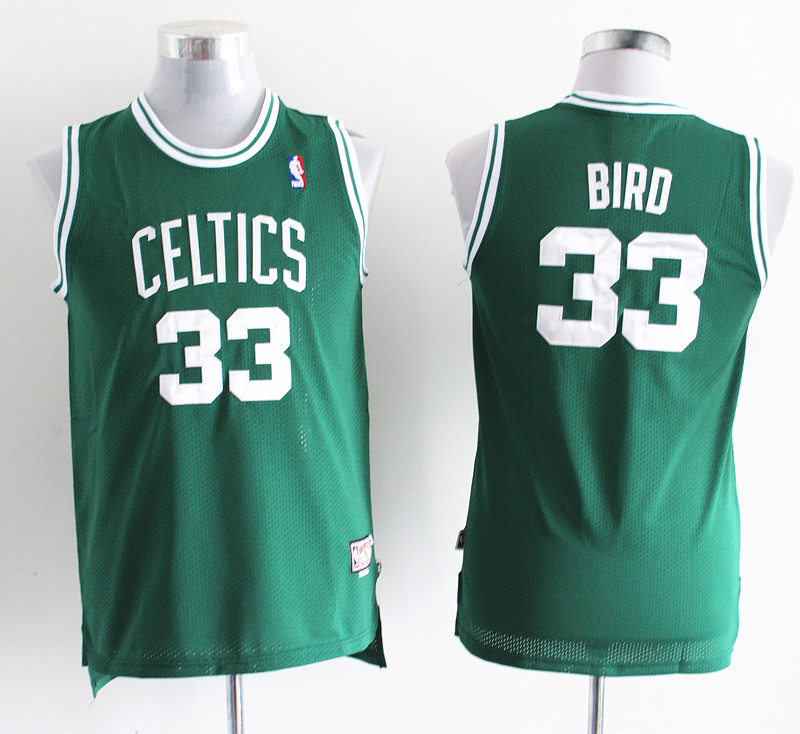 NBA Youth Boston Celtics 33 Larry Bird Green