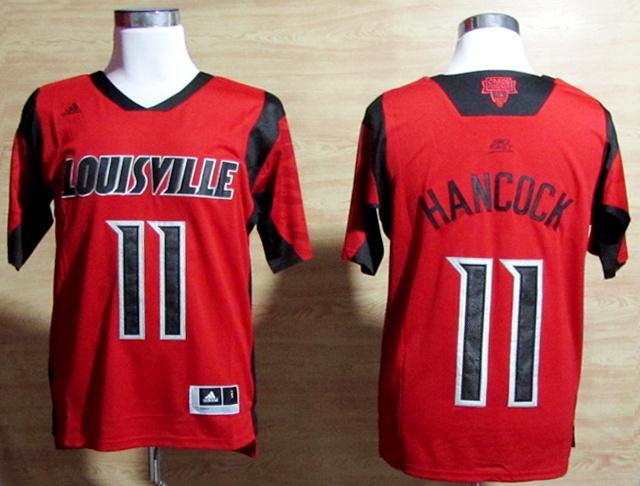NBA NCAA adidas Louisville Cardinals 2013 March Madness 11 Luke Hancock red Jersey