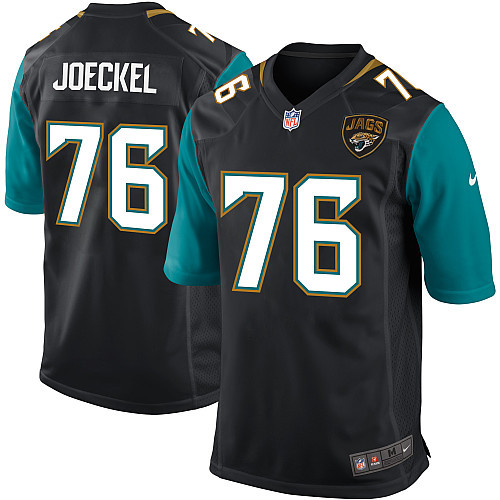 Jacksonville Jaguars 76 Joeckel black Nike Game Jersey