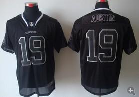 Dallas Cowboys 19 Miles Austin Nike Elite Black Champs Tackle Twill Jerseys