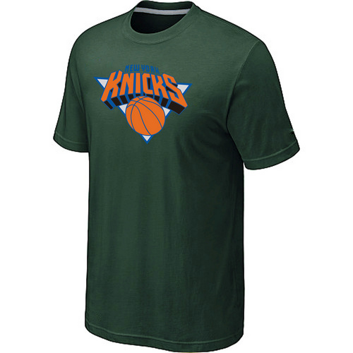 New York Knicks Big & Tall Primary Logo D.Green T-Shirt