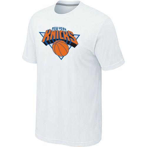 New York Knicks Big & Tall Primary Logo White T-Shirt