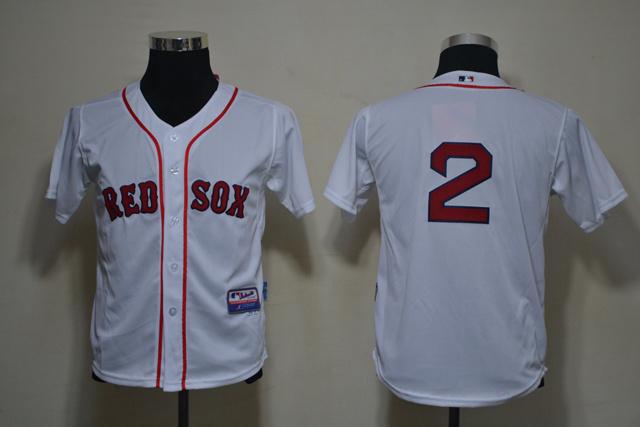 MLB Youth Jerseys Boston Red Sox 2 ELLSBURY White