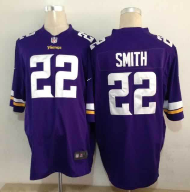 Minnesota Vikings 22 Harrison Smith Purple Nike Game1 Jerseys