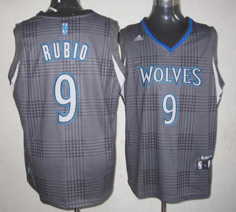 NBA Minnesota Timberwolves 9 Ricky Rubio Rhythm Fashion jersey Limited Edition