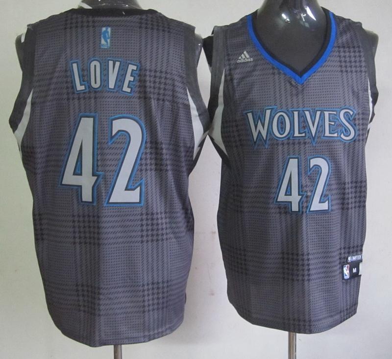 NBA Minnesota Timberwolves 42 Kevin Love Rhythm Fashion jersey Limited Edition