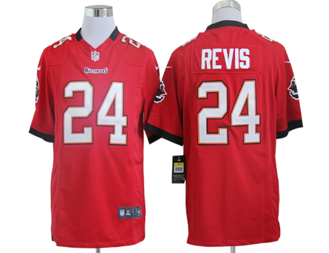 Tampa Bay Buccaneers 24 Revis Red Nike Game Jerseys