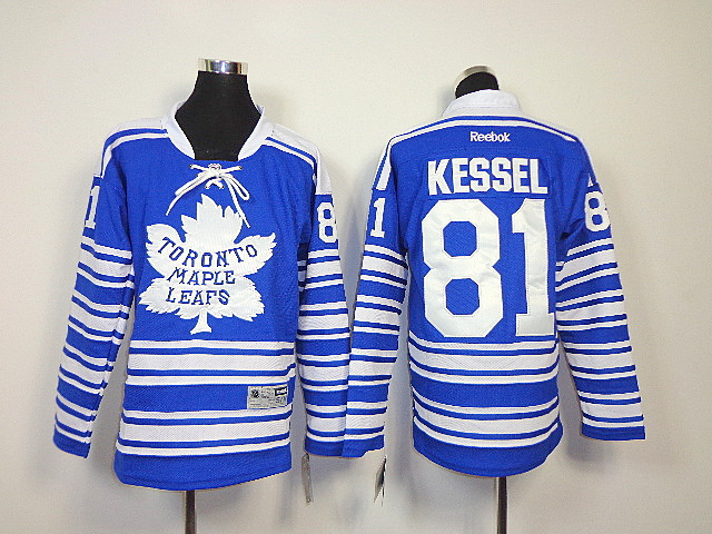 NHL Youth Toronto Maple Leafs 2014 NHL 81 kessel Winter Classic Jersey