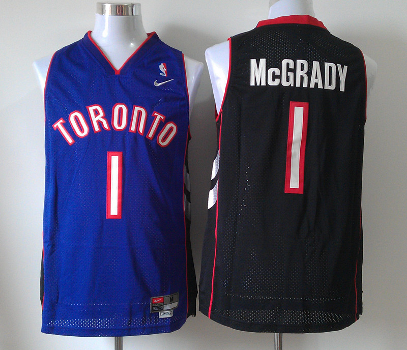 NBA Toronto Raptors 1 Tracy McGrady Purple Jerseys
