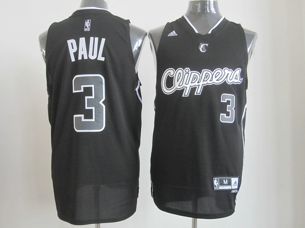 NBA Los Angeles Clippers 3 Chris Paul Black Fashion Revolution 30