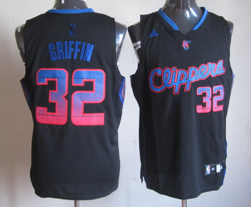 NBA Los Angeles Clippers 32 Griffin black jersey