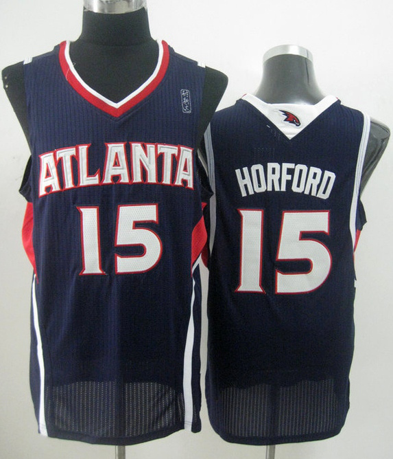 NBA Atlanta Hawks 15 Al Horford blue jersey
