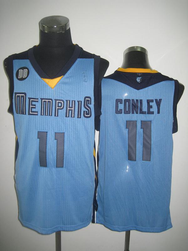NBA Memphis Grizzlies 11 Mike Conley Beale Street Blue jersey