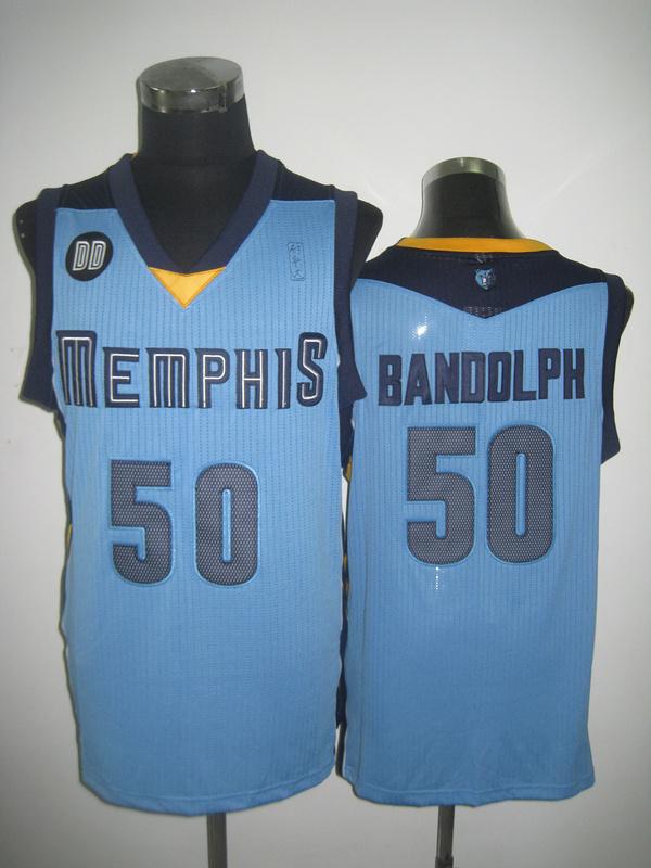 NBA Memphis Grizzlies 50 Zach Randolph Beale Street Blue jersey