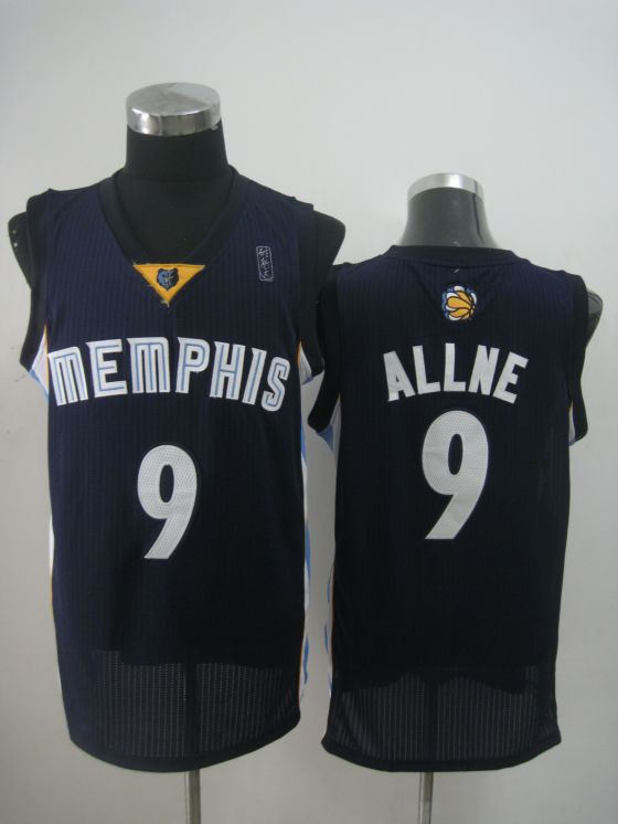 NBA Memphis Grizzlies 9 Tony Allen new material navy blue jersey
