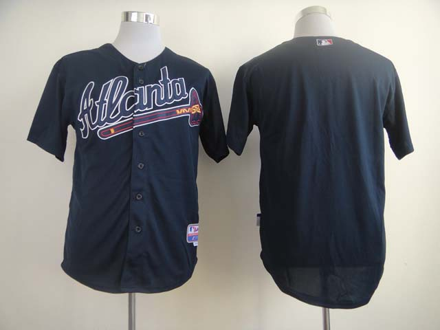 MLB Atlanta Braves Blank blue Jerseys