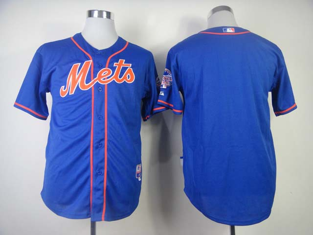 MLB New York Mets Blank Blue Jersey