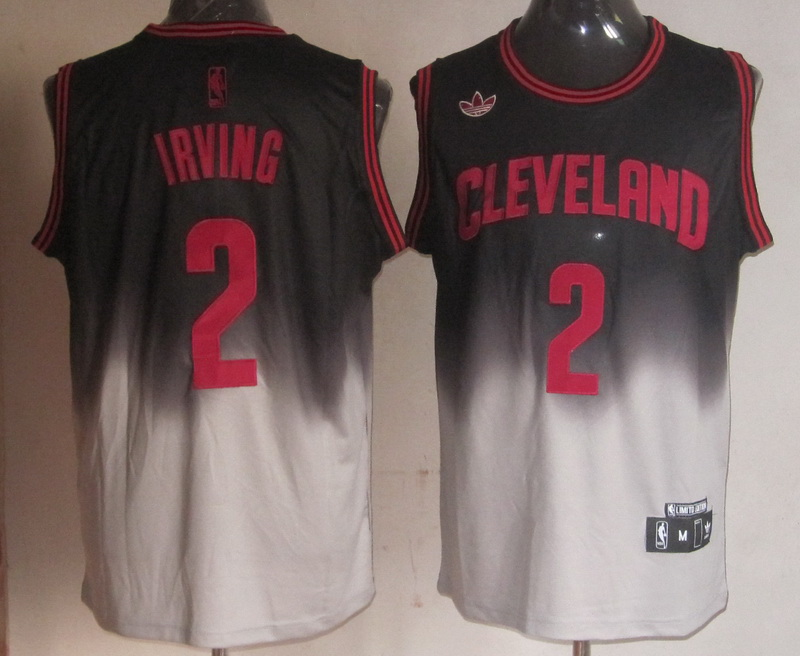 NBA Cleveland Cavaliers 2 Kyrie Irving 2013 new black grey jersey