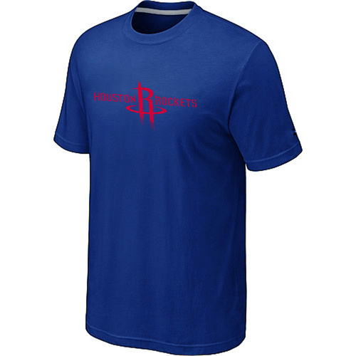 Houston Rockets adidas Primary Logo T-Shirt Blue