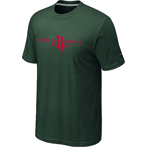 Houston Rockets adidas Primary Logo T-Shirt D-Green