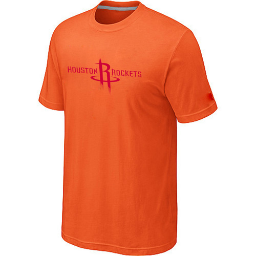 Houston Rockets adidas Primary Logo T-Shirt Orange