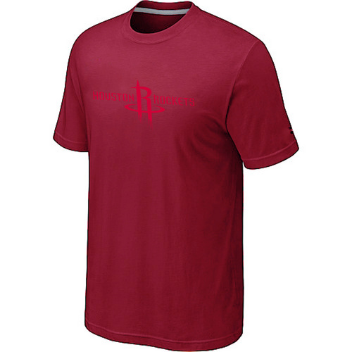 Houston Rockets adidas Primary Logo T-Shirt Red