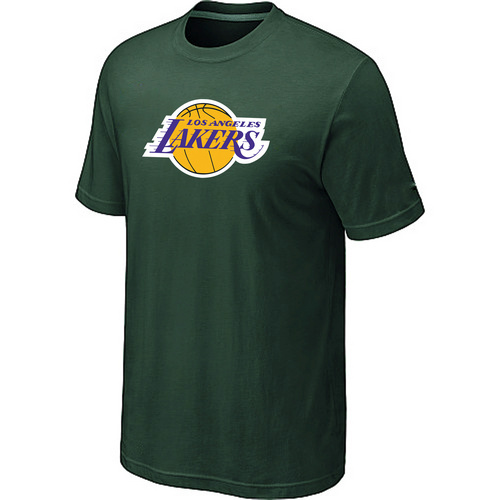 Los Angeles Lakers Big Tall Primary Logo D-Green T-Shirt