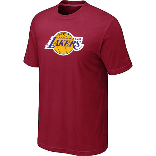 Los Angeles Lakers Big Tall Primary Logo Red T-Shirt