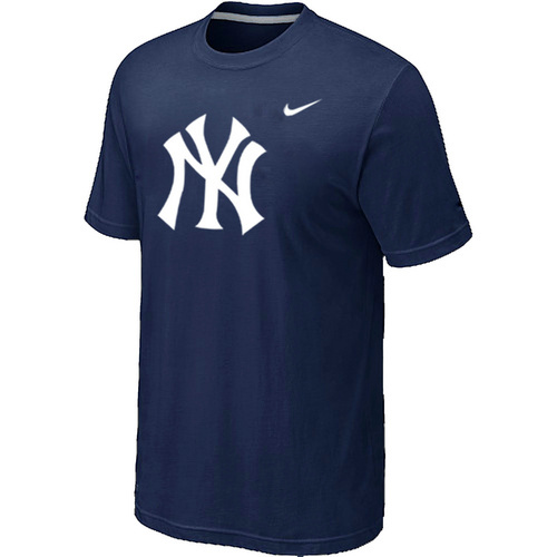 MLB MLB New York Yankees Heathered D-BlueNike Blended T-Shirt