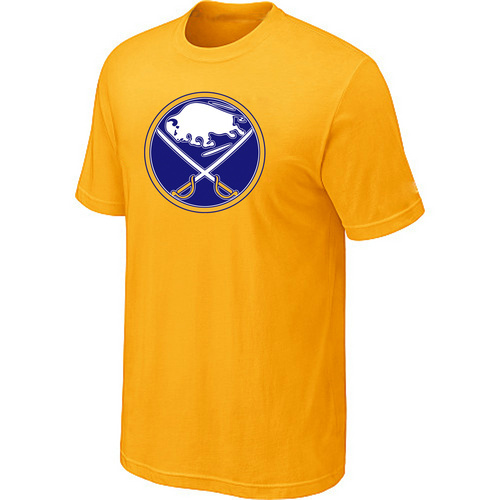 NHL Buffalo SabresBig Tall Logo Yellow T-Shirt