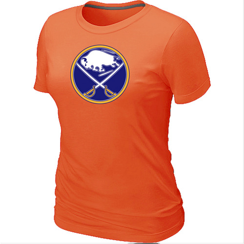 NHL Buffalo SabresBig Tall Womens LogoOrange T-Shirt
