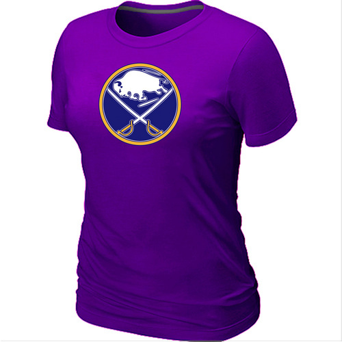 NHL Buffalo SabresBig Tall Womens LogoPurple T-Shirt