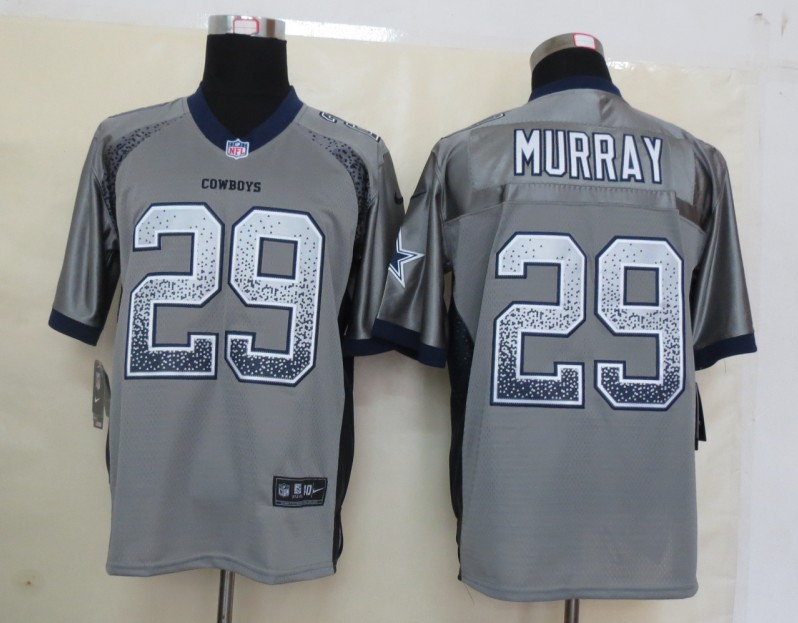 2013 NEW Nike Dallas cowboys 29 Murray Drift Fashion Grey Elite Jerseys