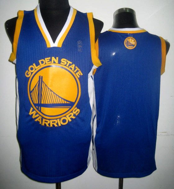NBA Golden State Warriors Blank blue jersey