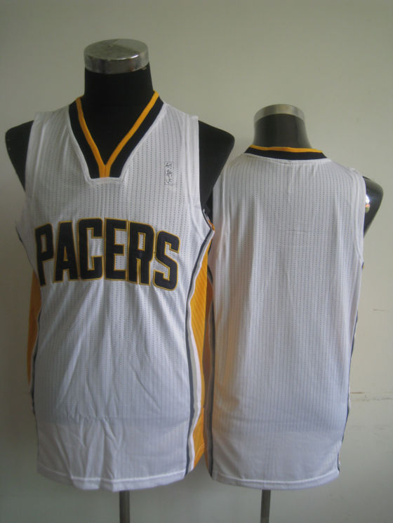 NBA Indiana Pacers blank white jersey