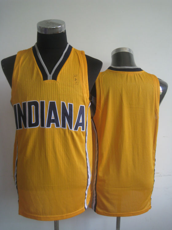NBA Indiana Pacers blank yellow jersey