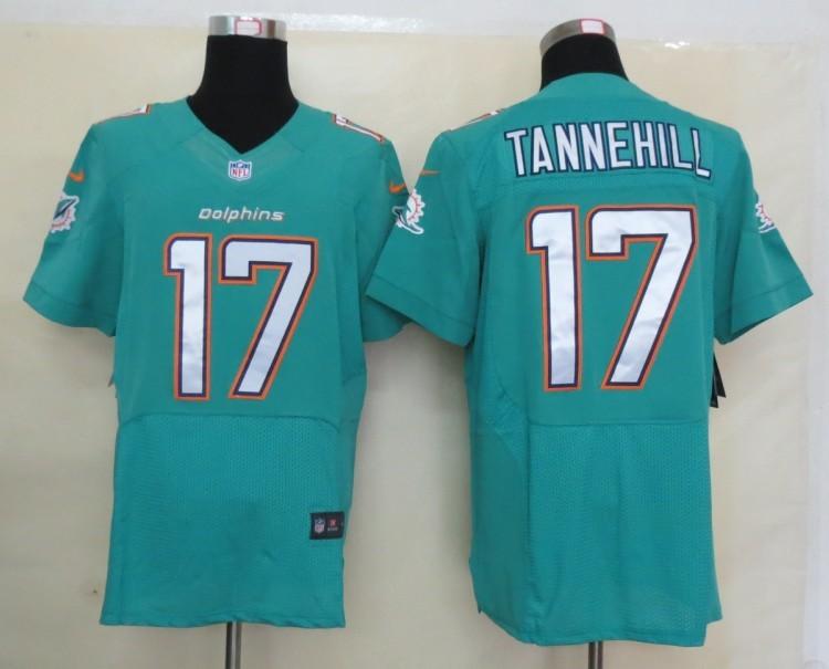 Miami Dolphins 17 Tannehill Green Nike 2013 Elite Jerseys