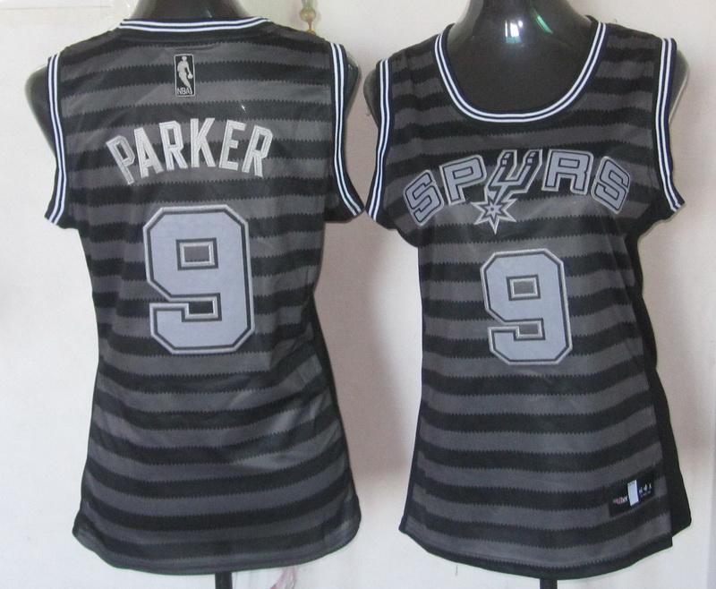 NBA Womens San Antonio Spurs 9 Tony Parker 2013 new Groove fashion Swingman jersey
